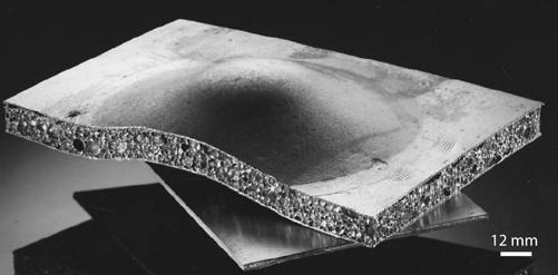 Aluminium foam sandwich panel