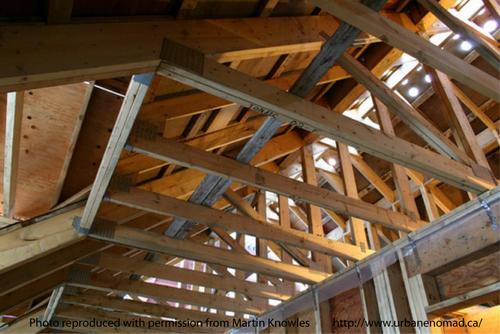 build wood roof trusses
